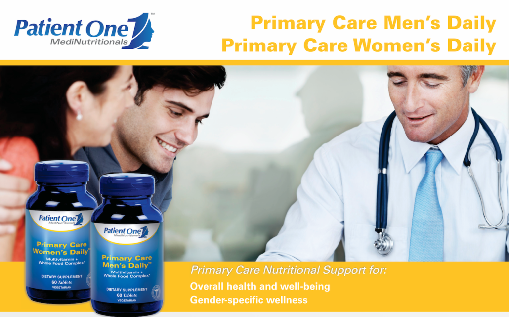 patient one primary car mens daily